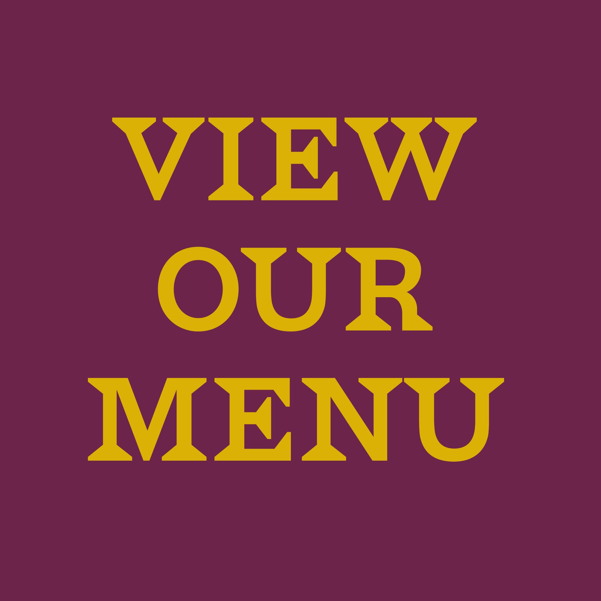 The Vine - View our menu
